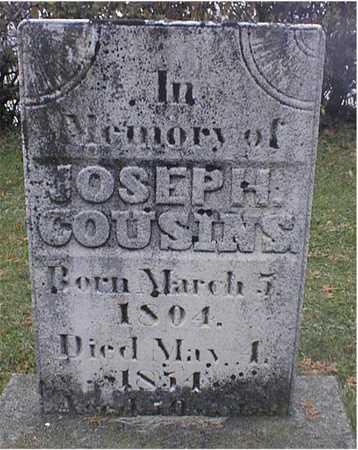 COUSINS, JOSEPH - Dubuque County, Iowa | JOSEPH COUSINS