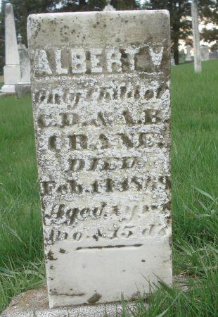 CRANE, ALBERT W. - Dubuque County, Iowa | ALBERT W. CRANE