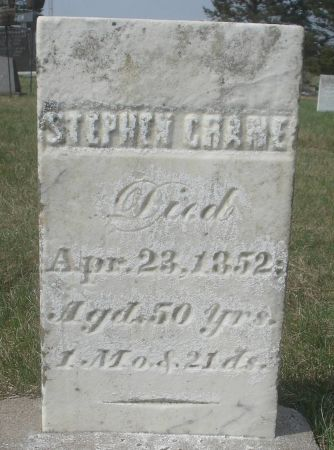 CRANE, STEPHEN - Dubuque County, Iowa | STEPHEN CRANE