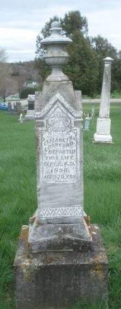 CRAWFORD, ELIZABETH - Dubuque County, Iowa | ELIZABETH CRAWFORD
