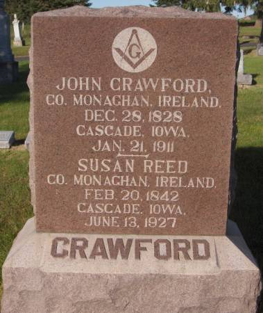 REED CRAWFORD, SUSAN - Dubuque County, Iowa | SUSAN REED CRAWFORD