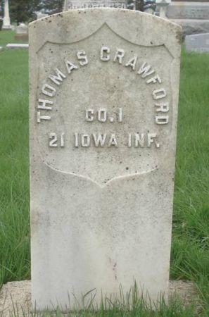 CRAWFORD, THOMAS - Dubuque County, Iowa   THOMAS CRAWFORD