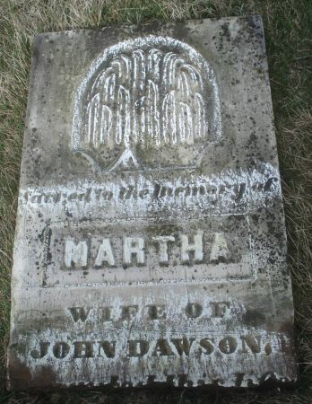 DAWSON, MARTHA - Dubuque County, Iowa | MARTHA DAWSON