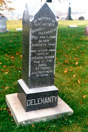 DELAHANTY, HONORA - Dubuque County, Iowa   HONORA DELAHANTY