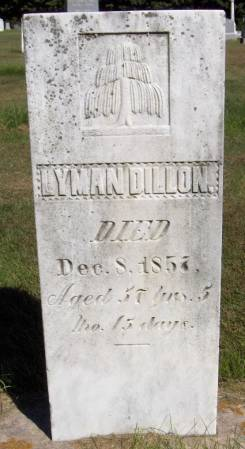 DILLON, LYMAN - Dubuque County, Iowa   LYMAN DILLON
