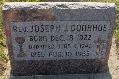 DONAHUE, REV. JOSEPH J. - Dubuque County, Iowa | REV. JOSEPH J. DONAHUE