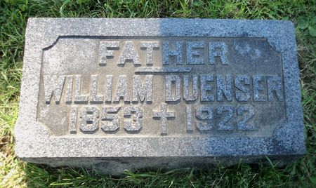 DUENSER, WILLIAM - Dubuque County, Iowa | WILLIAM DUENSER