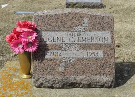 EMERSON, EUGENE O. - Dubuque County, Iowa | EUGENE O. EMERSON