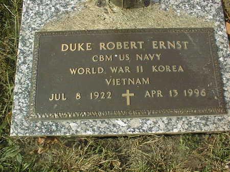 ERNST, DUKE ROBERT - Dubuque County, Iowa | DUKE ROBERT ERNST