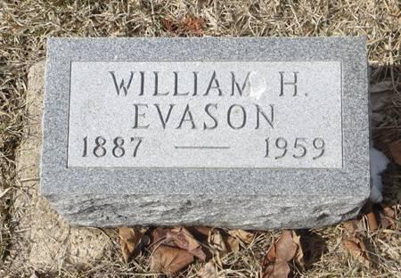 EVASON, WILLIAM H. - Dubuque County, Iowa   WILLIAM H. EVASON