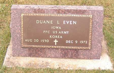 EVEN, DUANE L. - Dubuque County, Iowa | DUANE L. EVEN