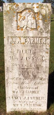 FARMER, WM. A. - Dubuque County, Iowa | WM. A. FARMER