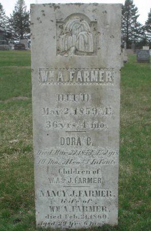 FARMER, WILLIAM A. - Dubuque County, Iowa | WILLIAM A. FARMER