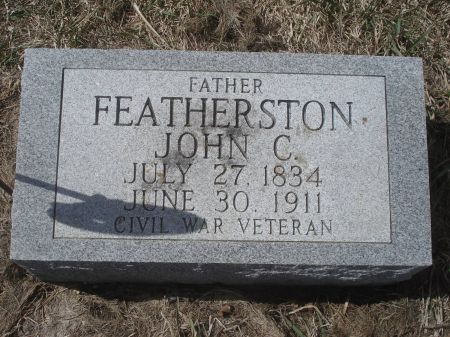 FEATHERSTON, JOHN C. - Dubuque County, Iowa | JOHN C. FEATHERSTON