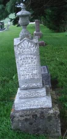 FIRTH, MARTHA - Dubuque County, Iowa | MARTHA FIRTH
