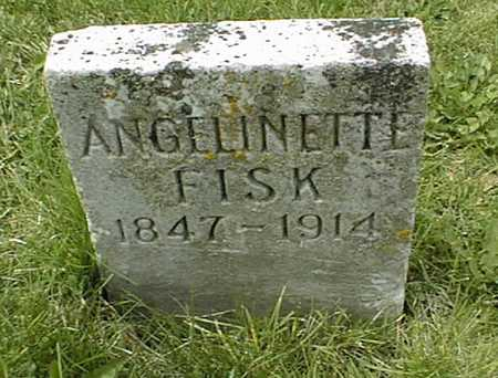 FISK, ANGELINETTE - Dubuque County, Iowa | ANGELINETTE FISK
