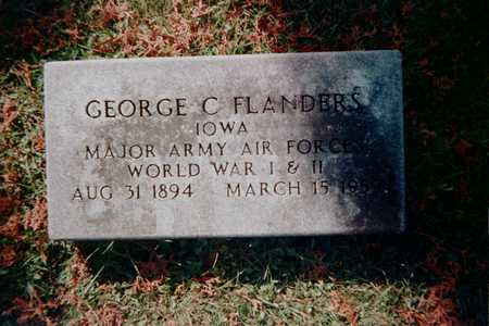FLANDERS, GEORGE C. - Dubuque County, Iowa | GEORGE C. FLANDERS
