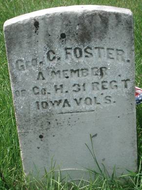 FOSTER, GEORGE G. - Dubuque County, Iowa | GEORGE G. FOSTER