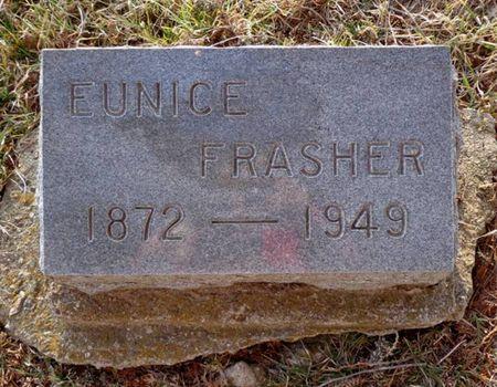 FRASHER, EUNICE - Dubuque County, Iowa | EUNICE FRASHER