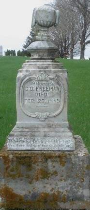 FREEMAN, C. O. - Dubuque County, Iowa | C. O. FREEMAN