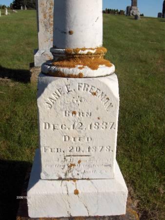 FREEMAN, JANE E. - Dubuque County, Iowa | JANE E. FREEMAN