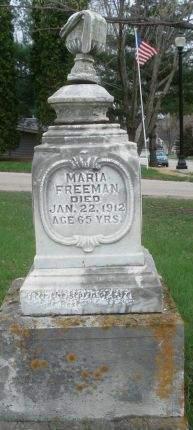 FREEMAN, MARIA - Dubuque County, Iowa | MARIA FREEMAN
