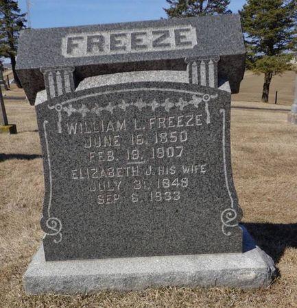 FREEZE, ELIZABETH J. - Dubuque County, Iowa | ELIZABETH J. FREEZE