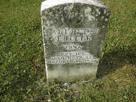 FULLER, ALFRED J. - Dubuque County, Iowa   ALFRED J. FULLER