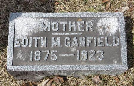 GANFIELD, EDITH M. - Dubuque County, Iowa | EDITH M. GANFIELD