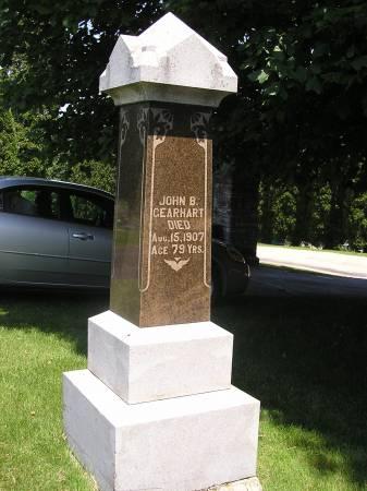 GEARHART, JOHN B - Dubuque County, Iowa   JOHN B GEARHART
