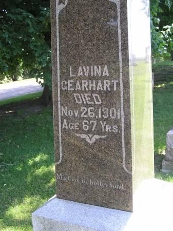 GEARHART, LAVINA - Dubuque County, Iowa | LAVINA GEARHART