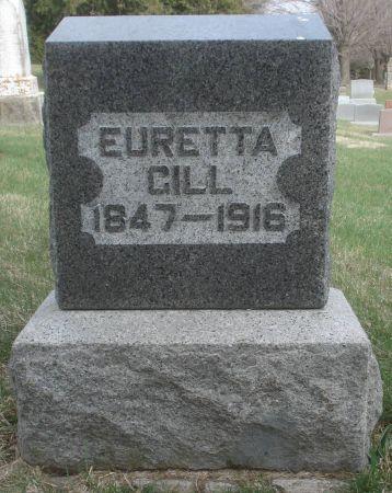 GILL, EURETTA - Dubuque County, Iowa   EURETTA GILL