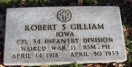 GILLIAM, ROBERT S. - Dubuque County, Iowa | ROBERT S. GILLIAM