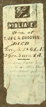 GOODVIN, VIOLIA E. - Dubuque County, Iowa   VIOLIA E. GOODVIN