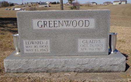 GREENWOOD, EDWARD J. - Dubuque County, Iowa   EDWARD J. GREENWOOD