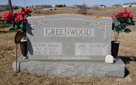 GREENWOOD, GAIL DORENE - Dubuque County, Iowa | GAIL DORENE GREENWOOD