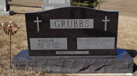 GRUBBS, WILLIAM L. - Dubuque County, Iowa | WILLIAM L. GRUBBS