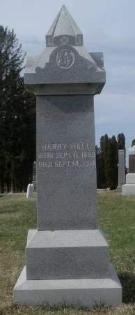 HALL, HARRY - Dubuque County, Iowa | HARRY HALL