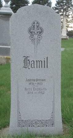 HAMIL, ANDREW PRESTON - Dubuque County, Iowa | ANDREW PRESTON HAMIL