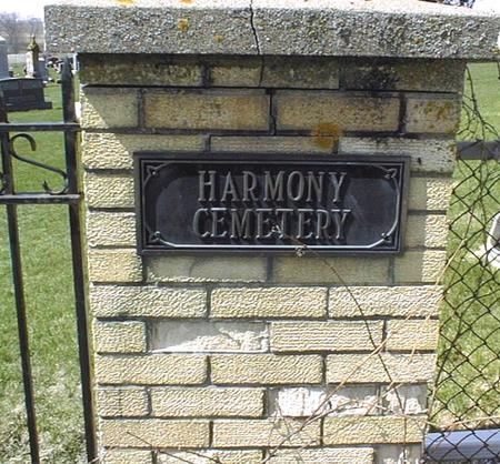HARMONY UNITED CHURCH OF CHRIST, CEMETERY - Dubuque County, Iowa | CEMETERY HARMONY UNITED CHURCH OF CHRIST