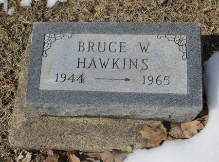 HAWKINS, BRUCE W. - Dubuque County, Iowa   BRUCE W. HAWKINS