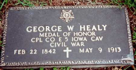 HEALY, GEORGE W. - Dubuque County, Iowa | GEORGE W. HEALY