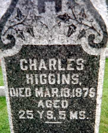 HIGGINS, CHARLES - Dubuque County, Iowa | CHARLES HIGGINS