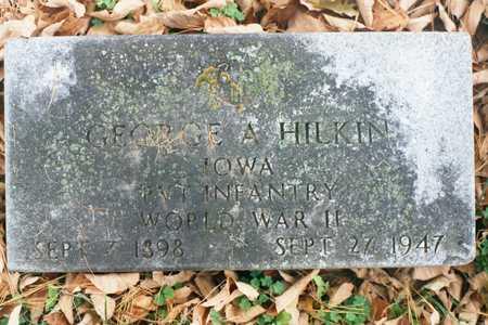 HILKIN, GEORGE A. - Dubuque County, Iowa | GEORGE A. HILKIN