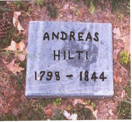 HILTI, ANDREAS - Dubuque County, Iowa | ANDREAS HILTI