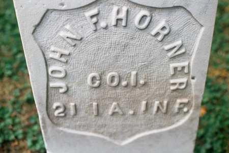 HORNER, JOHN F. - Dubuque County, Iowa | JOHN F. HORNER