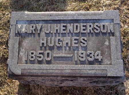 HUGHES, MARY J. - Dubuque County, Iowa | MARY J. HUGHES