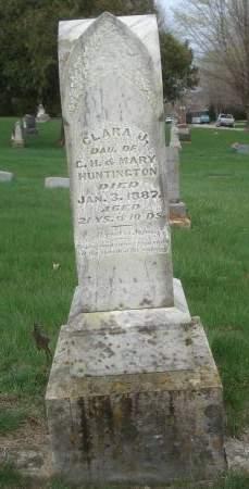 HUNTINGTON, CLARA J. - Dubuque County, Iowa | CLARA J. HUNTINGTON