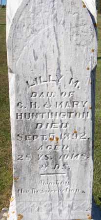 HUNTINGTON, LILLY M. - Dubuque County, Iowa | LILLY M. HUNTINGTON