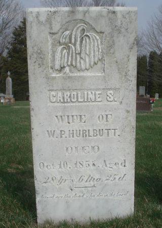 HURLBUTT, CAROLINE S. - Dubuque County, Iowa | CAROLINE S. HURLBUTT